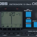バンドマン必携!リズム感を鍛えるメトロノームBEST3-2【BOSS DB-60】